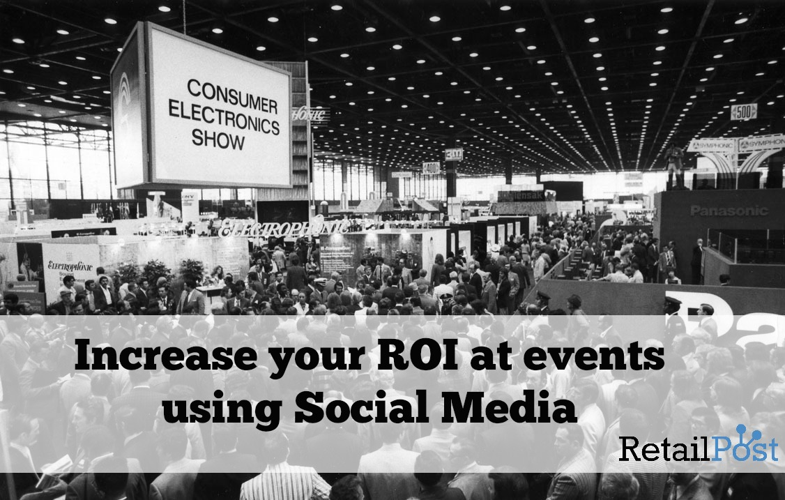 increase ROI at events using social media
