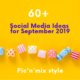 60+ social media ideas september 2019 banner