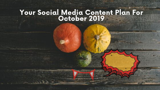 october content plan